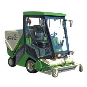 Cabine pour engin d'entretien d'espaces verts