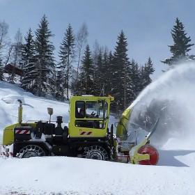 Cabine de chasse-neige