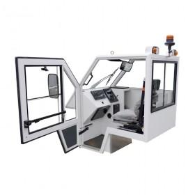 Cabine pour matériel de manutention aéroportuaire