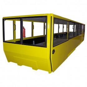 Cabine pour matériel de transport ferroviaire