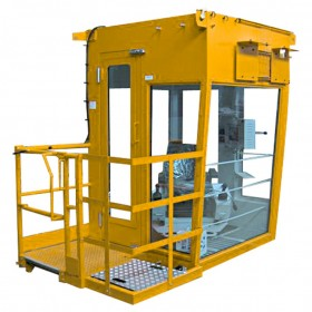 Cabine pour matériel de manutention portuaire