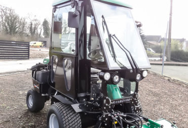Tailor-made cab for lawn mower