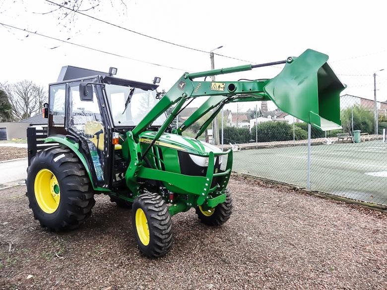 Cabine pour tracteur John Deere