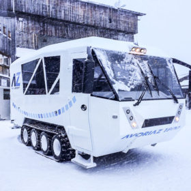 Chase for transporting people in the mountains