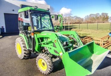 Cabine pour matériel agricole