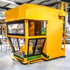Cabin for port handling equipment