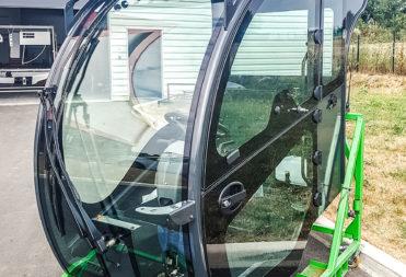 Cabine visiospace pour engin agricole
