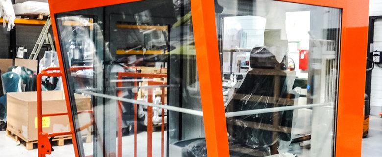 Cockpit for the aluminium industry